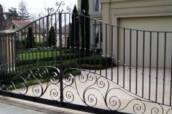 Ornamental Iron Gates, Custom Gates, Wood & Iron Gates, Arbors